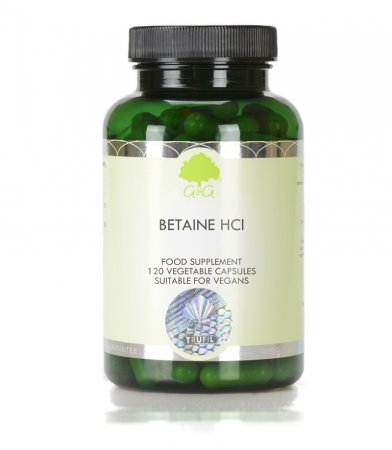 Betain HCl 480 mg, 120 capsul