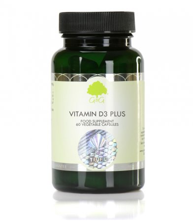 Vitamin D3 Plus z vitaminom K2, 60 kapsul